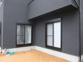 黒いガーデンルーム 堺市S様邸1