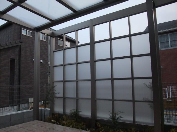 躯体打付け不要のTOEXプラスGを使ったお庭のリフォーム外構 箕面市 K様邸2