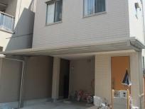 乱形石を使った上品でオシャレなオープン外構 大阪市阿倍野区 A様邸