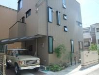 洋風でアンティーク調をイメージした上品な外構 大阪市阿倍野区 I様邸