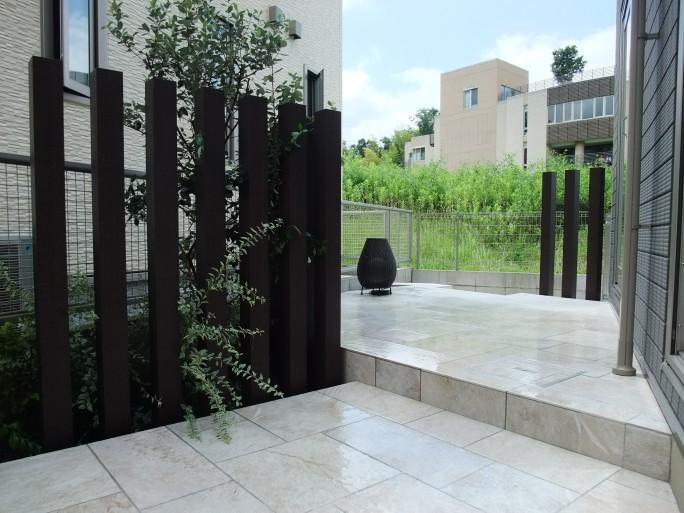 ガーデン・車庫スペースのリフォーム外構 箕面市 N様邸5