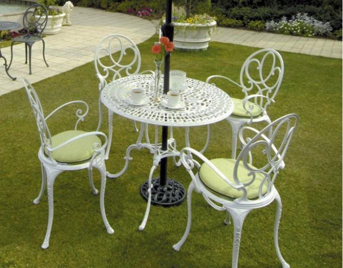 ノヴァ ジュノ テーブル ホワイトセット1