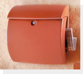 バーグベヒターメールボックス キール テラオレンジ1